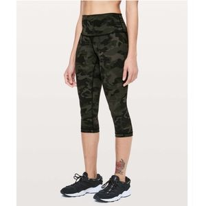 Lululemon Wunder Under High Rise ½ Tight Incognito